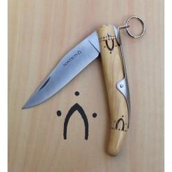 Couteaux Nontron Cran d'arrêt, modèle 1914-1918, lame inox 9 cm