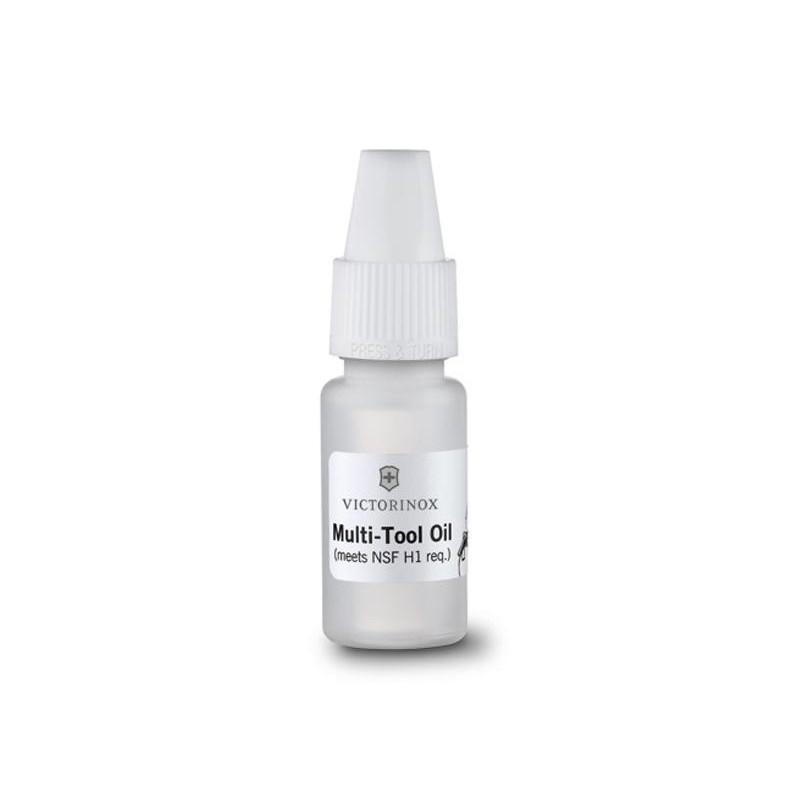 Burette huile Victorinox 10 ml, entretien du couteau