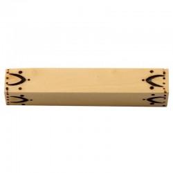 Repose couteaux de table Nontron en buis pyrogravé (à l'unité)
