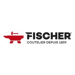 Fusil à aiguiser Fischer revêtement diamant, section ovale (logo Fischer)