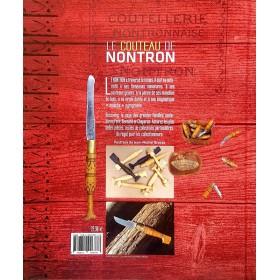 Livre sur le Couteaux de Nontron par Bernard Givernaud (photo du verso du livre)