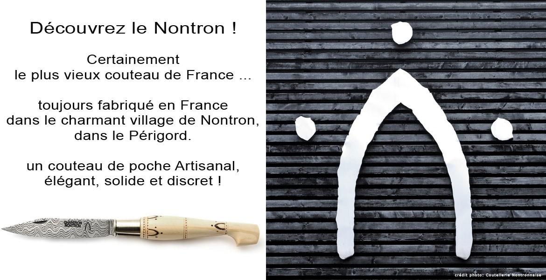 Couteaux de Nontron - certainement le plus vieux couteau pliant de France ...